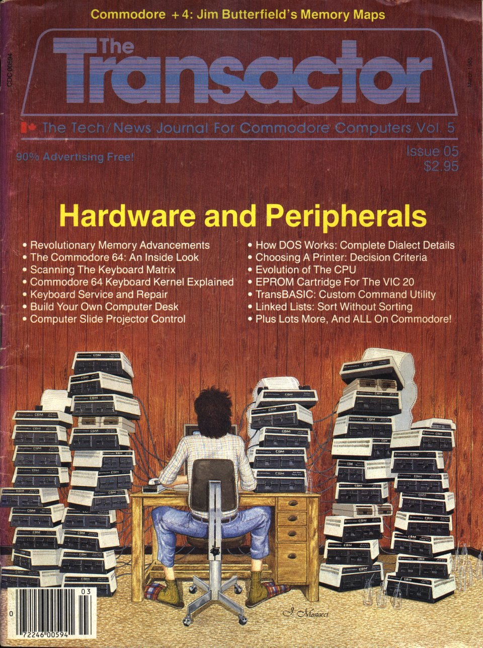 [Cover Page of The Transactor Volume 5, Issue 5: Hardware and Peripherals]