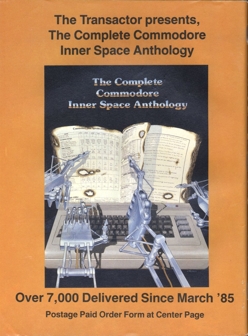 [Advertisement: The Complete Commodore Inner Space Anthology, Over 7,000 Delivered Since March '85]