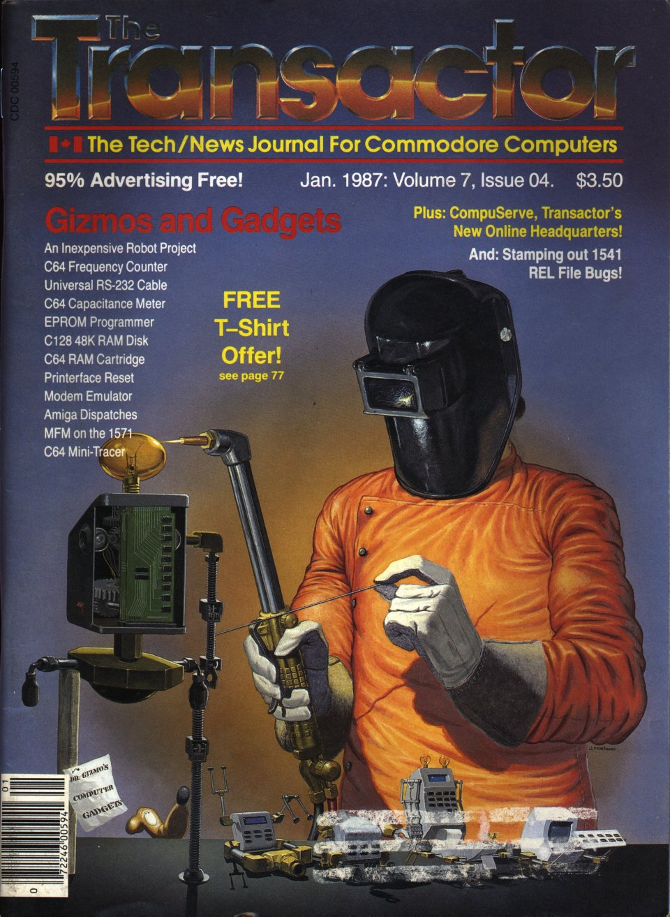 [Cover Page of The Transactor Volume 7, Issue 4: Gizmos and Gadgets]